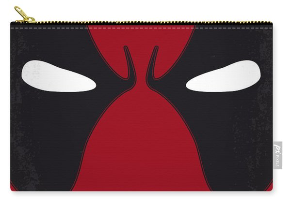 No639 My Deadpool Minimal Movie Poster Carry-all Pouch