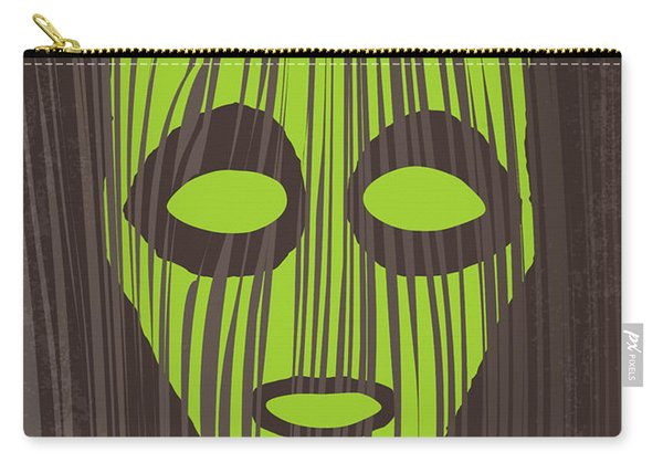 No647 My The Mask Minimal Movie Poster Carry-all Pouch