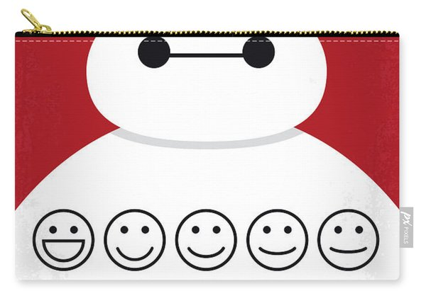 No649 My Big Hero 6 Minimal Movie Poster Carry-all Pouch