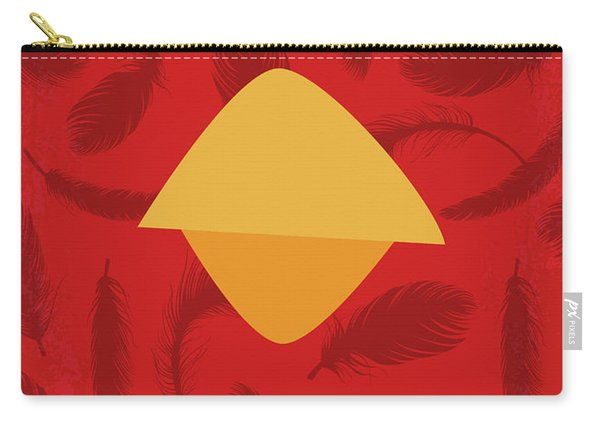 No658 My Angry Birds Movie Minimal Movie Poster Carry-all Pouch