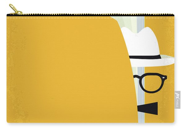 No671 My Capote Minimal Movie Poster Carry-all Pouch
