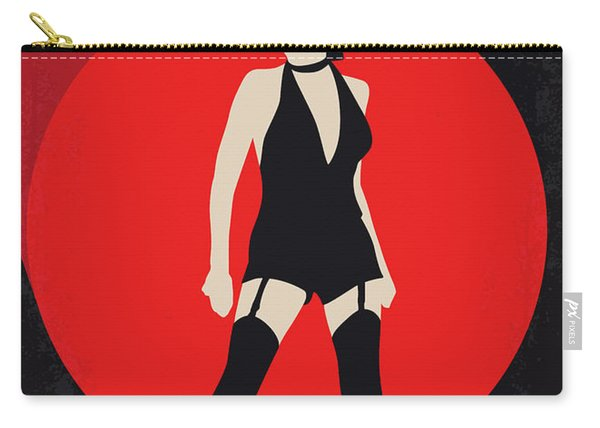 No742 My Cabaret Minimal Movie Poster Carry-all Pouch