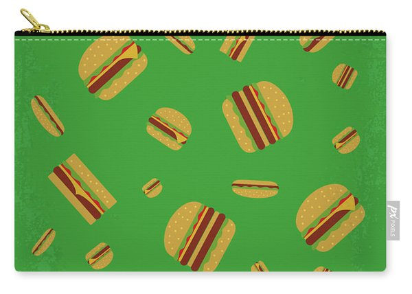 No778 My Cloudy With A Chance Of Meatballs Minimal Movie Poster Carry-all Pouch