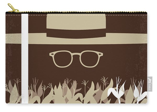 No830 My Secret Window Minimal Movie Poster Carry-all Pouch