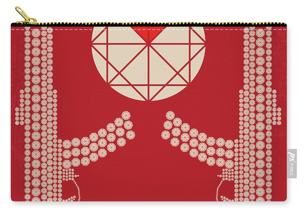 No833 My Blood Diamond Minimal Movie Poster Carry-all Pouch