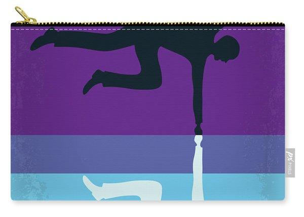 No848 My Less Than Zero Minimal Movie Poster Carry-all Pouch