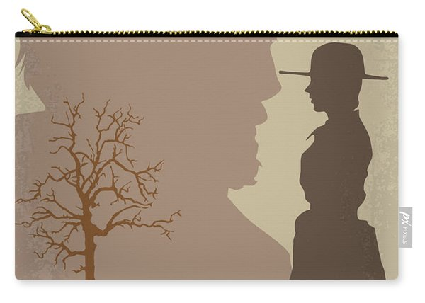No860 My True Grit Minimal Movie Poster Carry-all Pouch