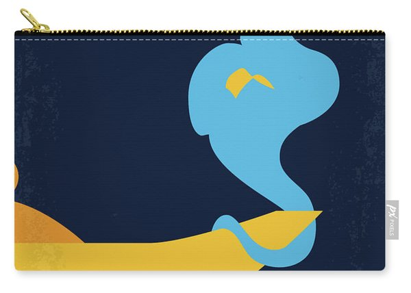 No920 My Aladdin Minimal Movie Poster Carry-all Pouch