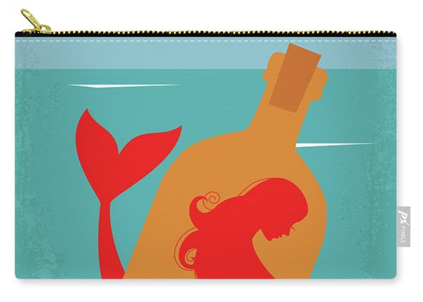 No925 My The Rum Diary Minimal Movie Poster Carry-all Pouch