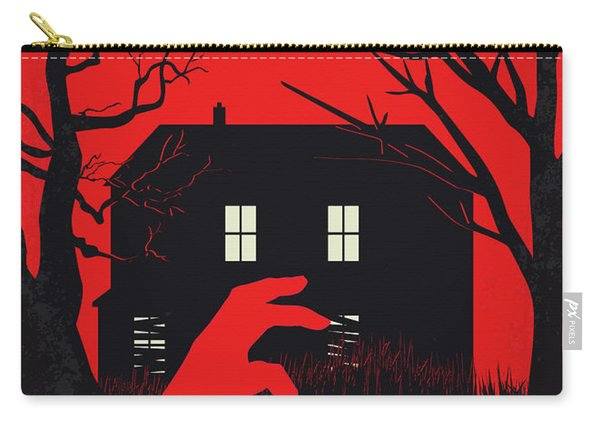 No935 My Night Of The Living Dead Minimal Movie Poster Carry-all Pouch