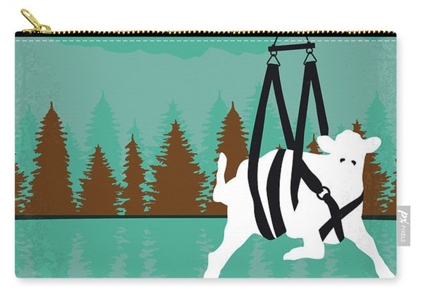 No944 My Lake Placid Minimal Movie Poster Carry-all Pouch