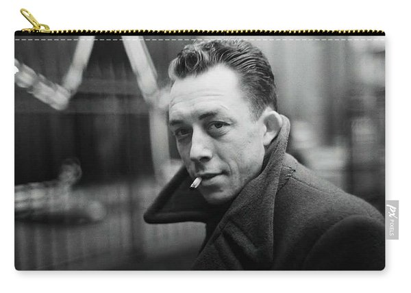 Nobel Prize Winning Writer Albert Camus Paris 1944 - 2015           Carry-all Pouch