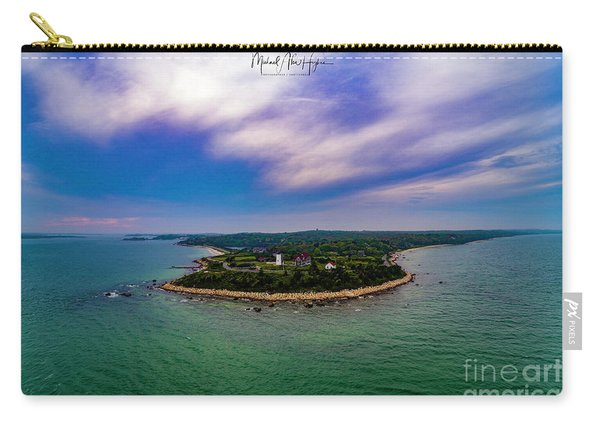 Nobska Lighthouse Panorama Carry-all Pouch