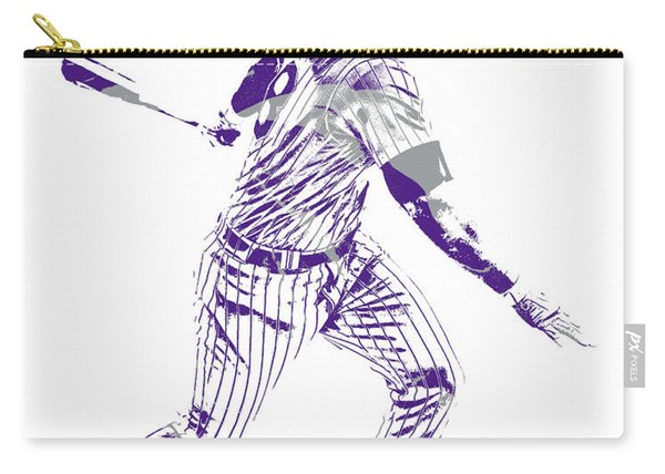 Nolan Arenado Colorado Rockies Pixel Art 10 Carry-all Pouch