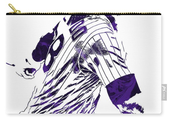 Nolan Arenado Colorado Rockies Pixel Art 3 Carry-all Pouch