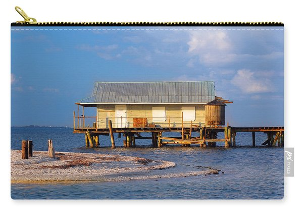 North Captiva Island Last Stilt House Standing Carry-all Pouch