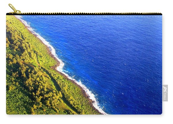 North Coast Of Tinian At Sunrise Carry-all Pouch