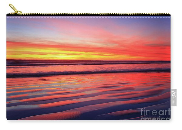 Oceanside Sand Ripples Carry-all Pouch