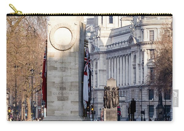 North Facade Of Cenotaph War Memorial Whitehall London Carry-all Pouch