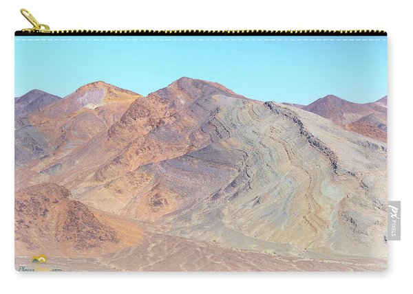 Carry-all Pouch featuring the photograph North Of Avawatz Mountain by Jim Thompson