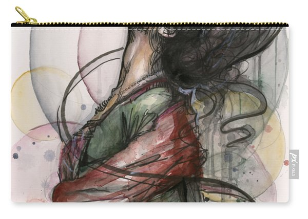 Beautiful Lady Carry-all Pouch