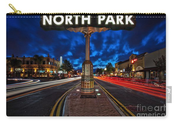 North Park Neon Sign San Diego California Carry-all Pouch