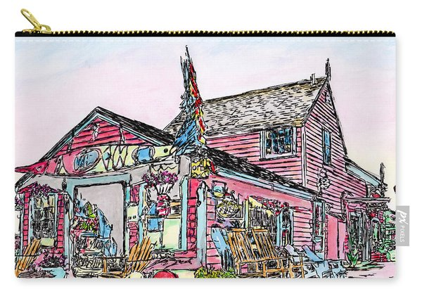 North Shore Kayak Shop, Rockport Massachusetts Carry-all Pouch