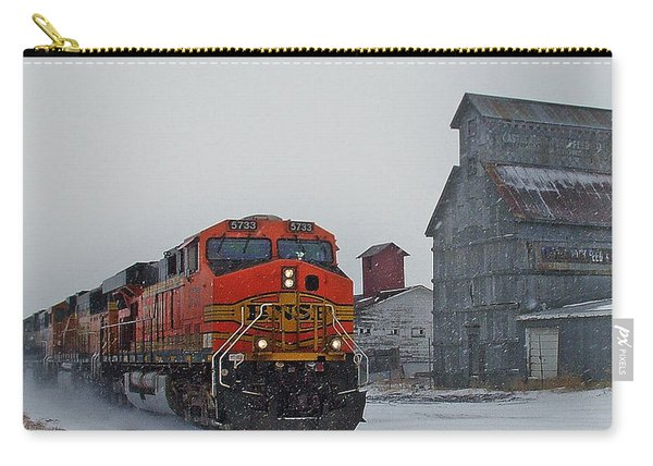 Northbound Winter Coal Drag Carry-all Pouch