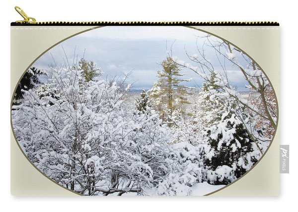northeast USA photography button Carry-all Pouch