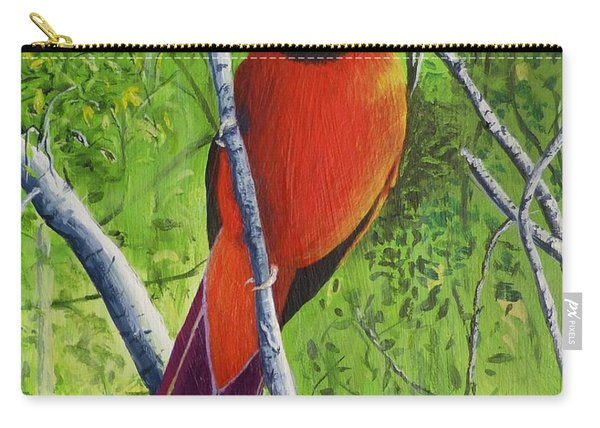 Northern Cardinal 1 Carry-all Pouch