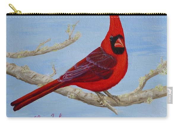 Northern Cardinal 2 Carry-all Pouch
