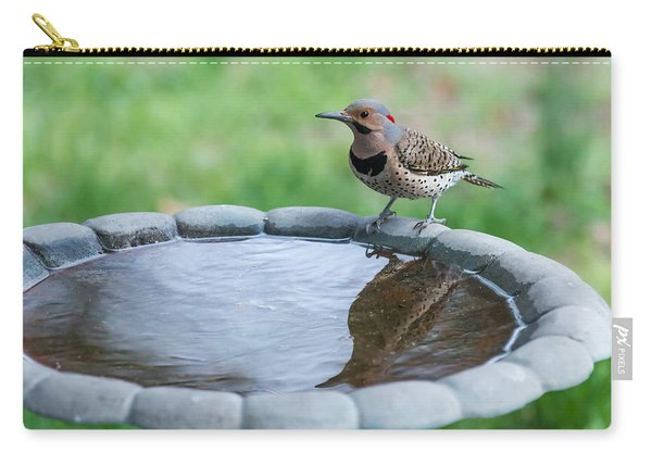 Northern Flicker Reflection New Jersey Carry-all Pouch