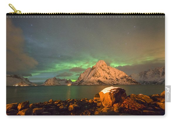 Spectacular Night In Lofoten 3 Carry-all Pouch