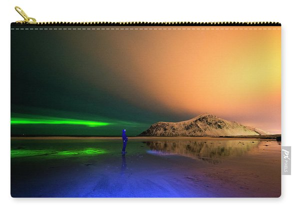Northern Light In Lofoten, Nordland 4 Carry-all Pouch