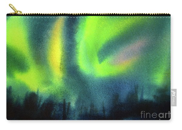 Northern Lights 3 Carry-all Pouch