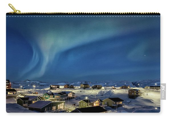 Northern Lights Over Ilulissat - Greenland Carry-all Pouch