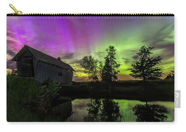 Northern Lights Reflection Carry-all Pouch