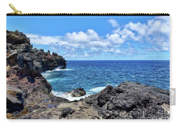 Northern Maui Rocky Coastline Carry-all Pouch