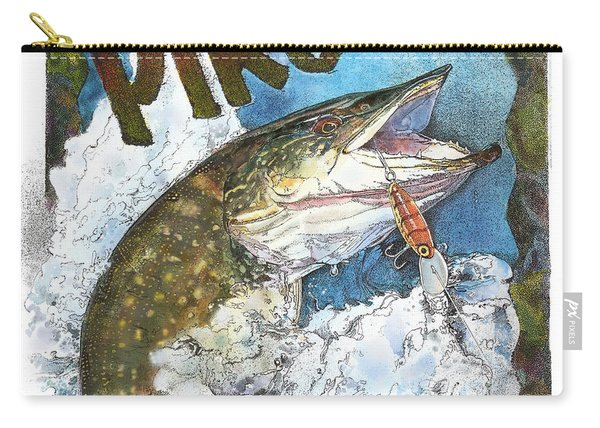 Northerrn Pike Carry-all Pouch