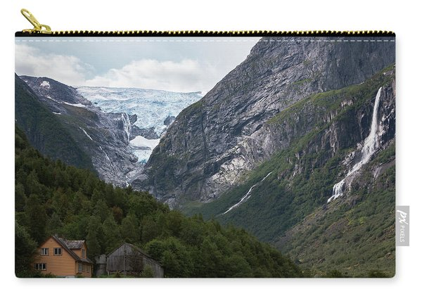Norway Glacier Jostedalsbreen Carry-all Pouch
