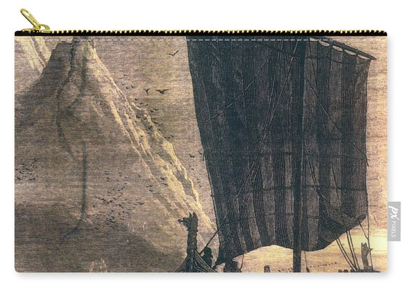 Norwegian Viking Longship Carry-all Pouch