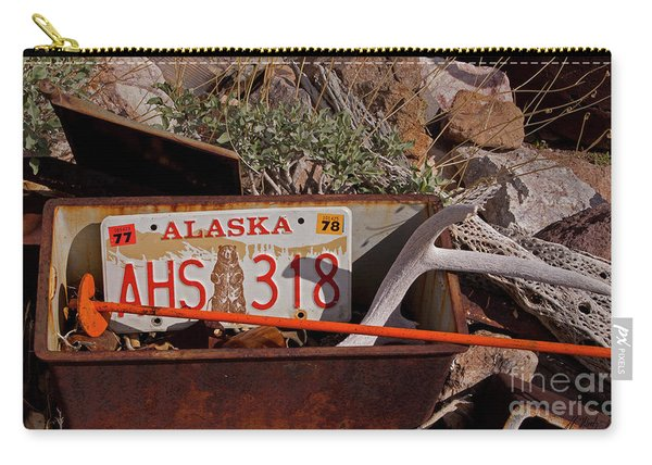 Not Alaska-signed-#1015 Carry-all Pouch