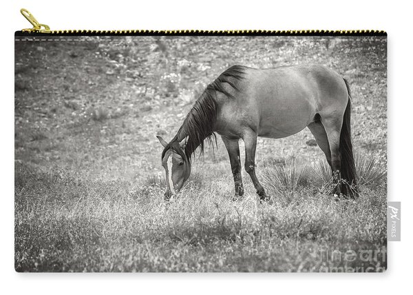 Carry-all Pouch featuring the photograph Not All Those Who Wander Are Lost by Susan Warren