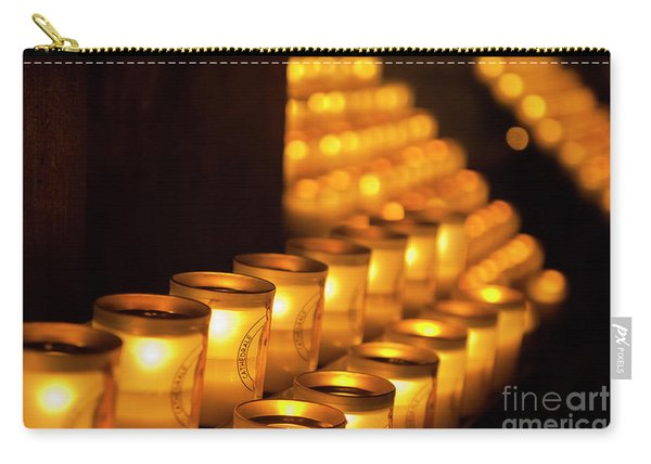 Notre Dame Candles Carry-all Pouch