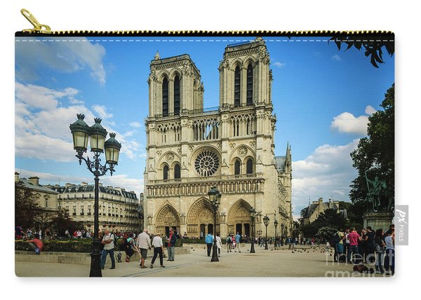 Notre Dame Cathedral Carry-all Pouch