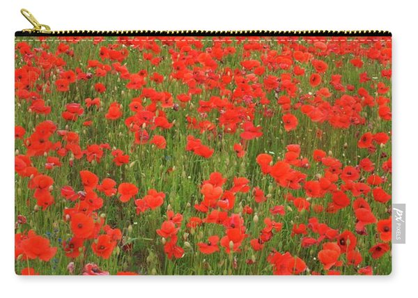 Nottinghamshire Poppies Carry-all Pouch