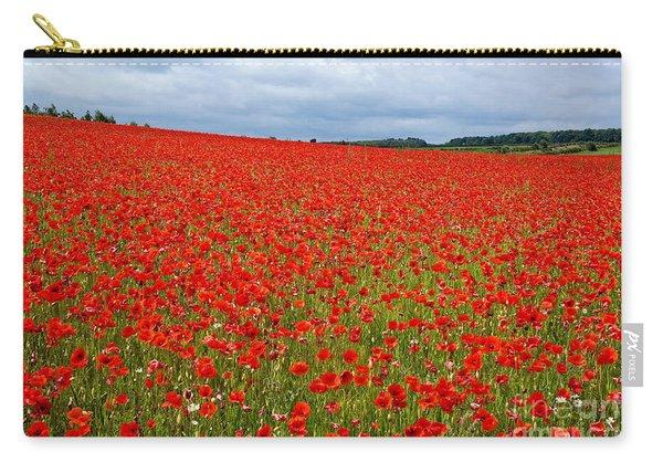 Nottinghamshire Poppy Field Carry-all Pouch