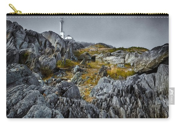 Carry-all Pouch featuring the photograph Nova Scotia's Rocky Shore by Garvin Hunter