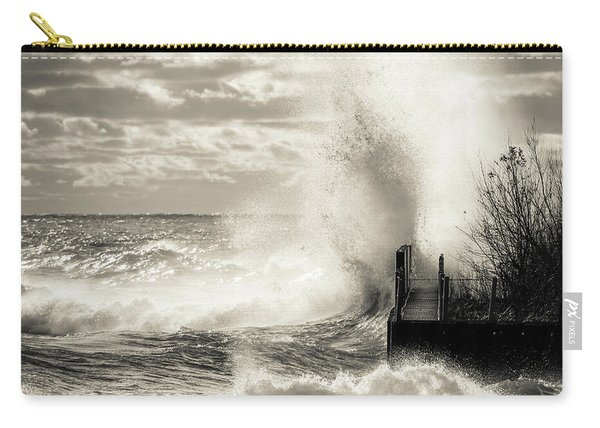 November Gales Bw Carry-all Pouch