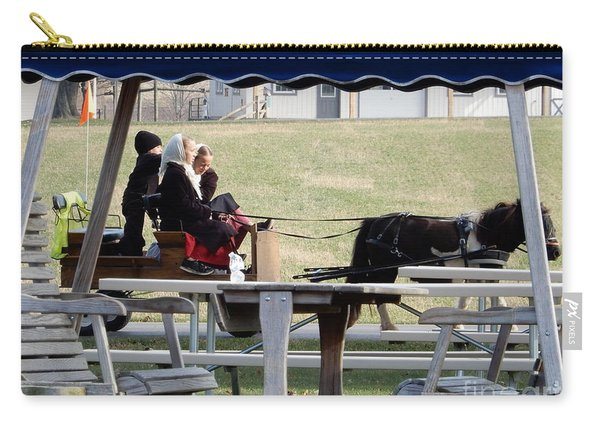 November Pony Cart Fun Carry-all Pouch